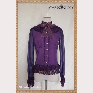 Chess Story Doll Theater Lolita Blouse
