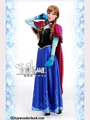 Frozen Princess Anna Cosplay