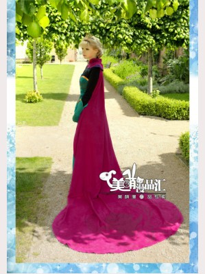 Frozen Princess Elsa Adult Ceremony Cloak