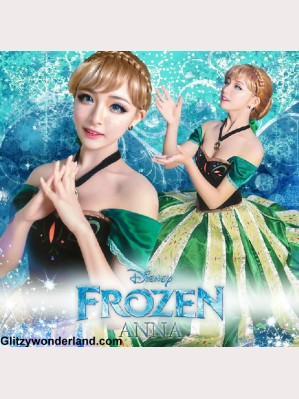Frozen Princess Anna Adult Ceremony Cosplay