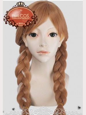 Frozen Princess Anna Wigs