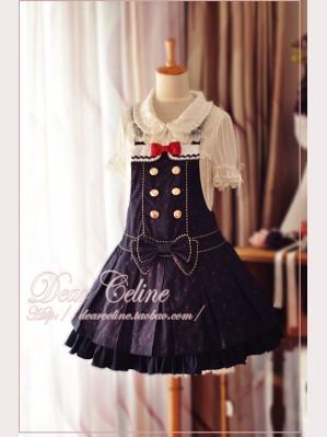 Dear Celine suspender skirt