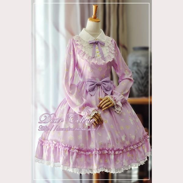 dear celine alice secret garden lolita dress. Black Bedroom Furniture Sets. Home Design Ideas