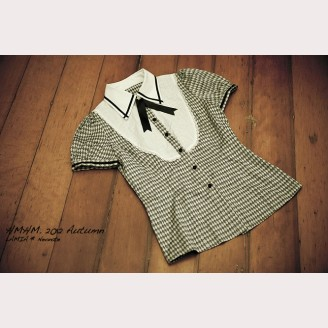 Small Quilted short-sleeved shirt hm23