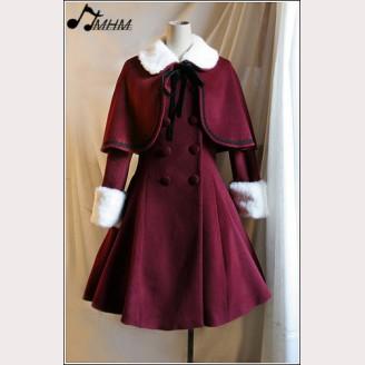 HMHM Nepalese wool skirt long coat hm43