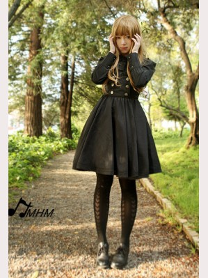 HMHM Flaxen-haired girl lolita dress