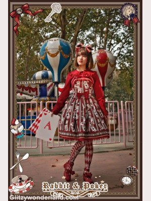 Infanta rabbit & poker lolita dress JSK
