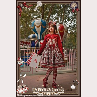 Infanta rabbit & poker lolita dress JSK