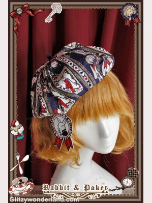 infanta Rabbit & Poker beret