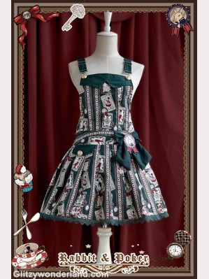 Infanta rabbit & poker suspender skirt