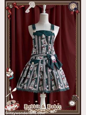 Infanta rabbit & poker suspender skirt