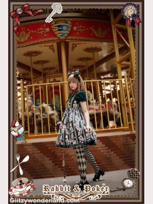 Infanta rabbit & poker short sleeves OP