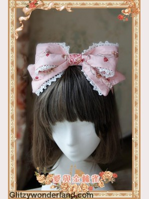 Infanta love & canary headbow