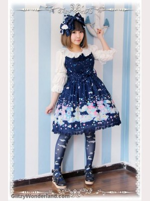 Infanta Sleeping Bear lolita dress JSK