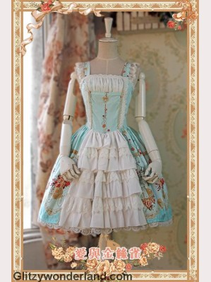 Infanta love & canary JSK 2 (Mint)