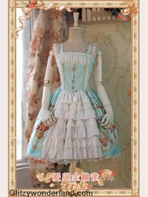 Infanta love & canary JSK 2 (Mint)