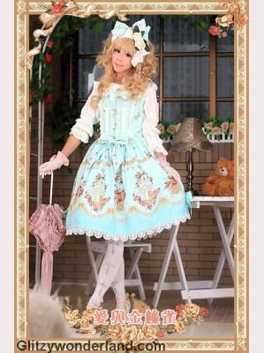 Infanta love & canary JSK 1 (Mint)