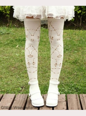 White chains lolita socks