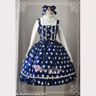 Magic tea party Poker Lolita Dress JSK
