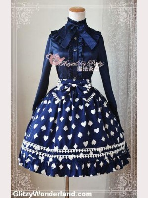 Magic tea party Poker Lolita Skirt SK