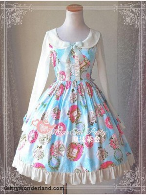 "Magic tea party ""Paris Garden"" Lolita dress OP"
