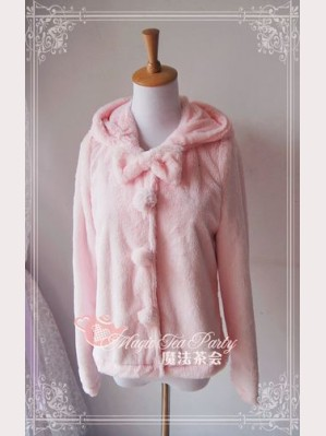 Magic tea party velvet hoodie
