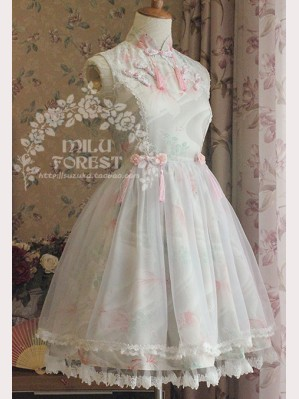 "Milu Forest ""Fish In Dream"" Qi Lolita dress JSK"