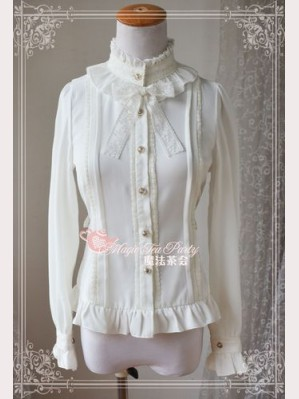 Magic tea party In Praise of Love chiffon blouse