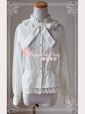 Magic tea party lolita long sleeves blouse