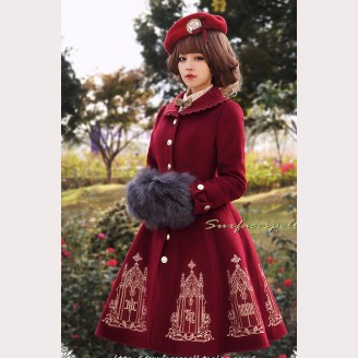 Surface spell Catherdral lolita Coat