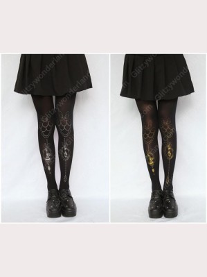 Alice tattoo tights