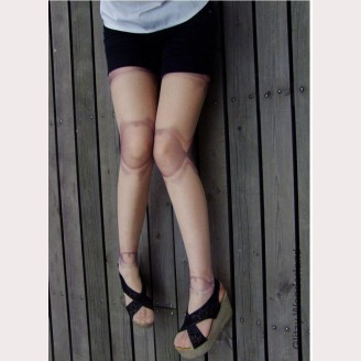 Ball Jointed Doll BJD Pantyhose (tan)